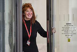 © Licensed to London News Pictures. 06/01/2020. London, UK. KARIE MURPHY, Executive Director of the Leader's Office under Jeremy Corbyn, arrives for a Labour Party NEC meeting in London where the upcoming leadership election will be organised. Current leader Jeremy Corbyn pledged to step down after the Conservative party won an 80 seat majority at a general election. Photo credit: Ben Cawthra/LNP