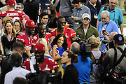 1/28/13 New Orleans LA.-Media Day at the the Mercedes Benz Super Dome for the NFC champion San Francisco 49ers's and the AFC Champions  Baltimore Ravens  prior to Super Bowl XLV11 in New Orleans. Photo©Suzi Altman
