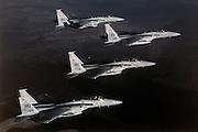 F-15 Eagles, Holloman AFB NM
