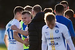 during the football match between NK Triglav Kranj and NK Celje in 25. Round of Prva liga Telekom Slovenije 2019/20, on March 8, 2020 in Sportni park Kranj, Slovenia. Photo by Grega Valancic / Sportida
