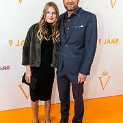 NLD/Katwijk/20191030 - 9 jaar Soldaat van Oranje, Prins Pieter-Christiaan en dochter Emma
