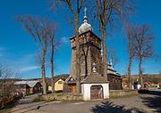Cerkiew greckokatolicka św. Paraskewy w Uściu Gorlickim, Polska<br /> Greek Orthodox Church of Sts. Paraskewy in Ujście Gorlice, Poland