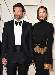 Bradley Cooper and Irina Shayk walking the red carpet as arriving to the 91st Academy Awards (Oscars) held at the Dolby Theatre in Hollywood, Los Angeles, CA, USA, February 24, 2019. Photo by Lionel Hahn/ABACAPRESS.COM