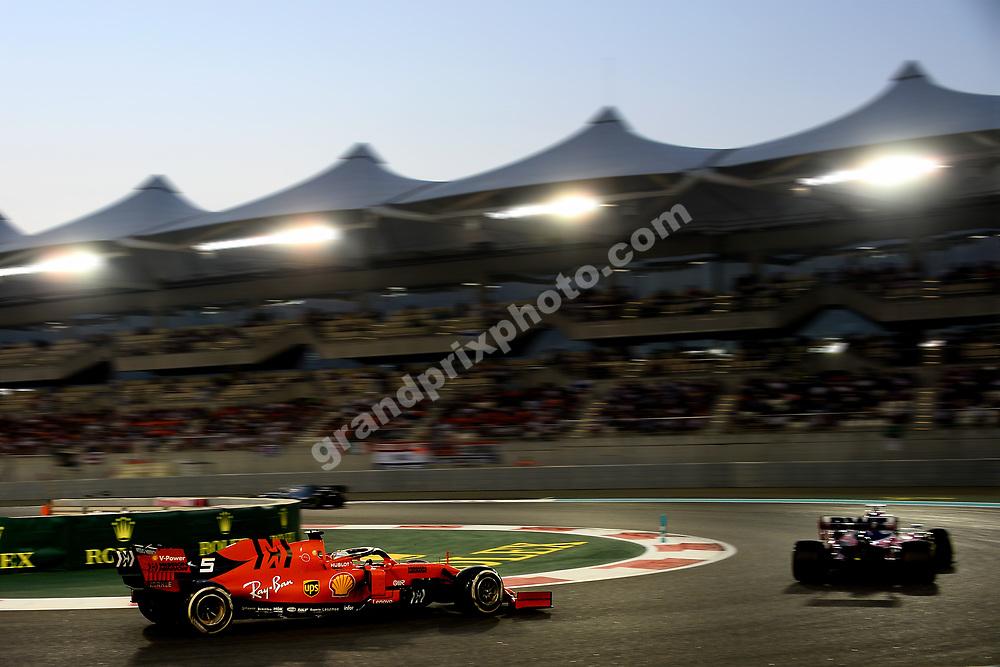 Charles Leclerc (Ferrari) during the 2019 Abu Dhabi Grand Prix at Yas Marina. Photo: Grand Prix Photo