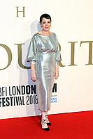 Olivia Colman, The Favourite - UK Premiere, BFI London Film Festival, BFI Southbank, London, UK, 18 October 2018, Photo by Richard Goldschmidt