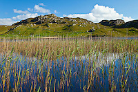 Lago Loch Dail Beag (Lake). Lewis Island. Outer Hebrides. Scotland, UK