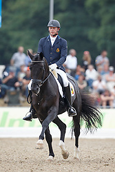 Heylen Tom, (BEL), Jar of Ballmore<br /> Small Final 6 years old horses<br /> World Championship Young Dressage Horses - Verden 2015<br /> © Hippo Foto - Dirk Caremans<br /> 08/08/15