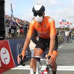 26-08-2020: Wielrennen: EK wielrennen: Plouay<br /> Oscar Riesebeek