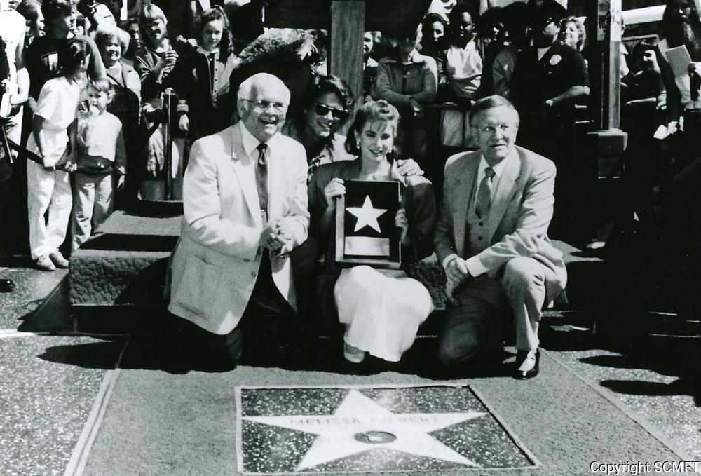 1985 Melissa Gilbert's Walk of Fame ceremony