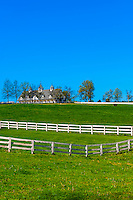 Manchester Farm (thoroughbred horse farm), Lexington, Kentucky USA.