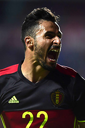 June 10, 2017 - Tallinn, Estonie - Nacer Chadli midfielder of Belgium celebrates scoring a goal (Credit Image: © Panoramic via ZUMA Press)