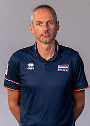 Ass. coach Henk-Jan Held of Netherlands, Photoshoot selection of Orange men's volleybal team season 2021on may 11, 2021 in Arnhem, Netherlands (Photo by RHF Agency/Ronald Hoogendoorn)