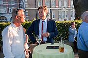 Dan harvey; Ben Bradshaw;  Tate Britain Summer Party 2009. Millbank. London. 29 June 2009