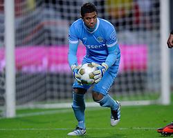 26-10-2012 VOETBAL: FC UTRECHT - FC GRONINGEN: UTRECHT<br /> Utrecht wint met 1-0 van Groningen / Moura Luciano Luciano<br /> ©2012-FotoHoogendoorn.nl