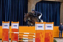 Brinkman Marco, NED, Mister Collin<br /> Fotodag KWPN Hengstenkeuring 2021<br /> © Hippo Foto - Dirk Caremans<br /> 21/12/2020