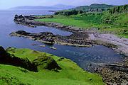 SEA KAYAKING, SCOTLAND, W. coast south of Oban Kerrera Island
