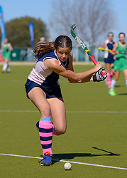 Charlotte Slabber of Herschel during day one of the FNB Private Wealth Super 12 Hockey Tournament held at Oranje Meisieskool in Bloemfontein, South Africa on the 6th August 2016<br /> <br /> Photo by:   Frikkie Kapp / Real Time Images