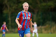 Steph Mann in action during the Pre-Season Friendly match between Crystal Palace LFC and Queens Park Rangers Ladies at the The Stadium, Bromley, United Kingdom on 19 July 2015. Photo by Michael Hulf.