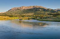 Pishkun Canal near Augusta Montana