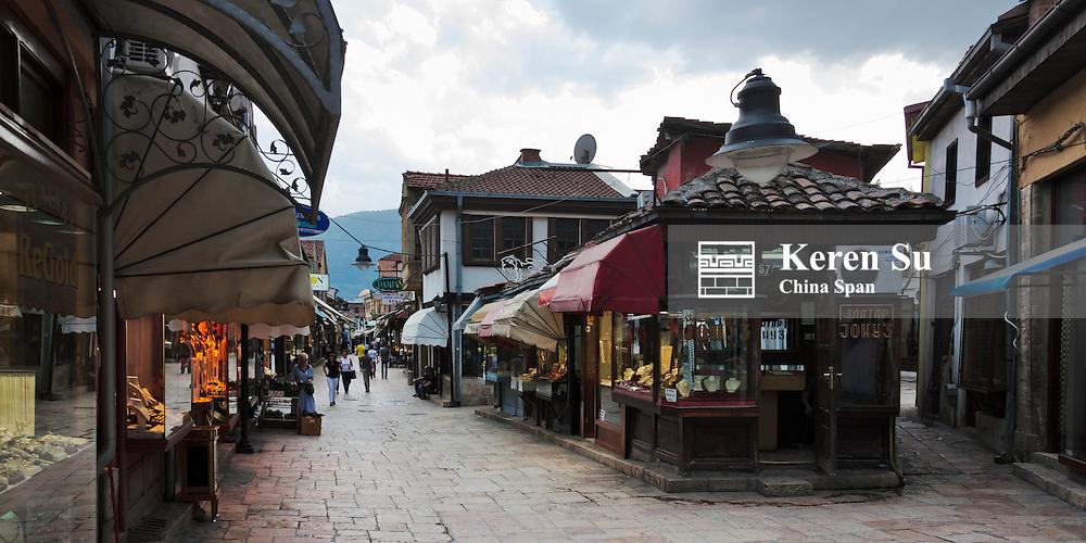 Old town, Skopje, Republic of Macedonia, Europe