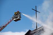 Pożar kościoła w Białymstoku - 21.04.2021