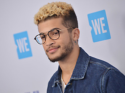 Jordan Fisher arrives at We Day California 2017 held at The Forum in Inglewood, CA on Thursday, April 27, 2017. (Photo By Sthanlee B. Mirador) *** Please Use Credit from Credit Field ***
