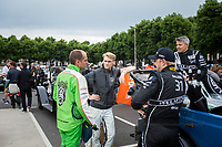 Grand Parade through the centre of Le Mans with Simon Trummer (CHE) / Oliver Webb (GBR) / Pierre Kaffer (DEU) driving the #4 LMP1 Bykolles Racing Team CLM P1/01 - AER 24hr Le Mans 17th June 2016