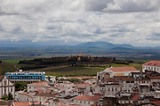 City of Elvas Castle panoramic view. 24/04/2011 NO SALES IN PORTUGAL