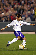 10 February 2006: Japan's Yuki Abe. The United States Men's National Team defeated Japan 3-2 at SBC Park in San Francisco, California in an International Friendly soccer match.