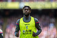 LONDON, ENGLAND - MAY 13: Pape Souaré (23) of Crystal Palace during the Premier League match between Crystal Palace and West Bromwich Albion at Selhurst Park on May 13, 2018 in London, England. MB Media