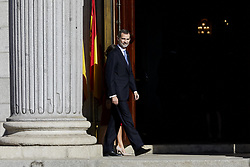 King Felipe VI of Spain attends to 40 Anniversary of Spanish Constitution at Congreso de los Diputados in Madrid, Spain. December 06, 2018. Photo by ALTERPHOTOS/A. Perez Meca/ABACAPRESS.COM