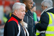 Crawley Town manager Dermot Drummy during the EFL Sky Bet League 2 match between Crawley Town and Newport County at the Checkatrade.com Stadium, Crawley, England on 17 December 2016. Photo by Andy Walter.