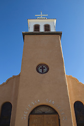 Saint Joseph's Church in Cerrillos, New Mexico