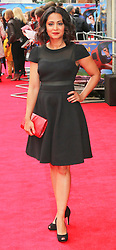 © Licensed to London News Pictures. 11/05/2014, UK. Parminder Nagra, Postman Pat: The Movie - World Film Premiere, Odeon West End Leicester Square, London UK, 11 May 2014,. Photo credit : Richard Goldschmidt/Piqtured/LNP