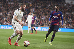March 2, 2019 - Madrid, Madrid, Spain - Daniel Carvajal (defender; Real Madrid) in action during La Liga match between Real Madrid and FC Barcelona at Santiago Bernabeu Stadium on March 3, 2019 in Madrid, Spain (Credit Image: © Jack Abuin/ZUMA Wire)