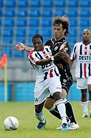 willem II - paok saloniki , 19-07 -2009  , eredivisie voetbal , seizoen 200-2010 . voorbereiding , oefenwedstrijd . sergio zijler , lucio filomeno