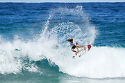 Italo Ferreira of Brazil advances directly to Round Three of the 2017 Billabong Pipe Masters after winning Heat 1 of Round One at Pipe, Oahu, Hawaii, USA