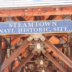 Scranton, PA - June 20, 2013: Steamtown National Historic Site is a railroad museum and heritage railroad located in downtown Scranton, and operated by the National Park Service.