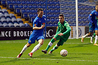 John Rooney. Stockport County FC 3-2 Yeovil Town FC. Emirates FA Cup Second Round. Edgeley Park. 29.11.20