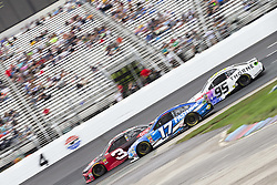 July 22, 2018 - Loudon, New Hampshire, United States of America - Ricky Stenhouse, Jr (17) races off turn four during the Foxwoods Resort Casino 301 at New Hampshire Motor Speedway in Loudon, New Hampshire. (Credit Image: © Stephen A. Arce/ASP via ZUMA Wire)