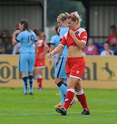 Bristol Academy Womens' Nicola Watts. - Photo mandatory by-line: Nizaam Jones- Mobile: 07583 387221 - 28/09/2014 - SPORT - Women's Football - Bristol - SGS Wise Campus - BAWFC v Man City Ladies - sport