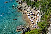 Grece, iles Ioniennes, Corfou, plage de Myrtiotissa // Greece, Ionian island, Corfu island, Myrtiotissa Beach