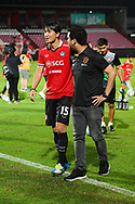 NONTHABURI, THAILAND - JULY 02: Lee Ho of SCG Muangthong United heading back to the locker room  after the second half of the Thai League: SCG Muangthong United vs Pattaya United at SCG Stadium, Nonthaburi, Thailand on July 02, 2017.<br /> .<br /> .<br /> .<br /> (Photo by: Naratip Golf Srisupab/SEALs Sports Images)<br /> .<br /> Any image use must include a mandatory credit line adjacent to the content which should read: Naratip Golf Srisupab/SEALs Sports Images