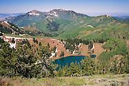 Desolation Lake, above Park City, UT, Utah, USA