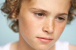 Blond Boy - Close-up view
