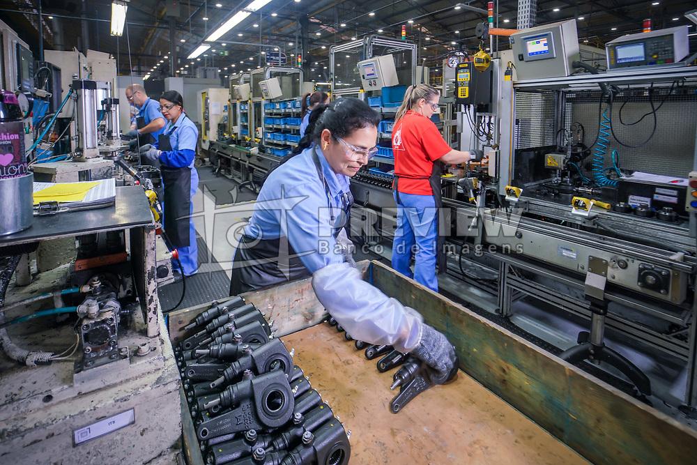 A Master Sistemas Automotivos é a maior fabricante de freios para caminhões, ônibus, reboques e semirreboques da América do Sul.  FOTO: Jefferson Bernardes/ Agência Preview