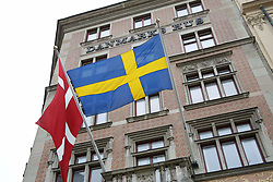 May 30, 2017 - Stockholm, Sweden - Danish Embassy..Official visit from Denmark, reception at the Danish embassy, Stockholm, 2017-05-30..(c) Johan Jeppsson / IBL....Officiellt besök frÃ¥n Kronprinsparet av Danmark, mottagning pÃ¥ danska ambassaden, Stockholm, 2017-05-30 (Credit Image: © Johan Jeppsson/IBL via ZUMA Press)