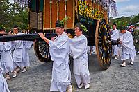 Japon, île de Honshu, région de Kansaï, Kyoto, fête imperiale au Kyoto gosho // Japan, Honshu island, Kansai region, Kyoto, imperial festival at Kyoto-gosho