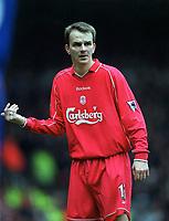 Fotball. Engelsk Premier League. 24.03.2002.<br /> Liverpool v Chelsea.<br /> Dieter Hamann, Liverpool.<br /> Foto: Matthew Impey, Digitalsport