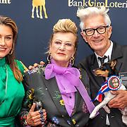 NLD/Utrecht/20191002 - NFF 2019: premiere Puck en Hans, Puck Kroon en Hans Kemmink met dochter Carmen Kemmink